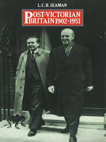 Post-Victorian Britain 1902-1951 book cover
