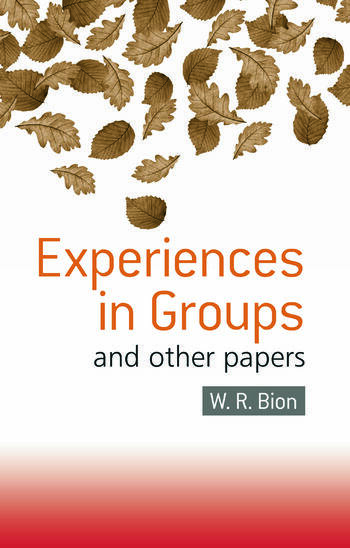 Experiences in Groups and Other Papers book cover