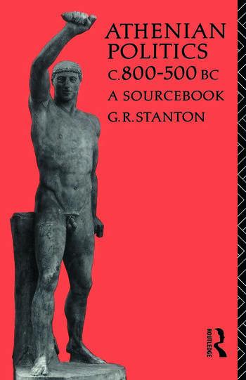 Athenian Politics c800-500 BC A Sourcebook book cover