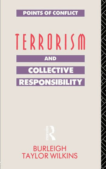 Terrorism and Collective Responsibility book cover