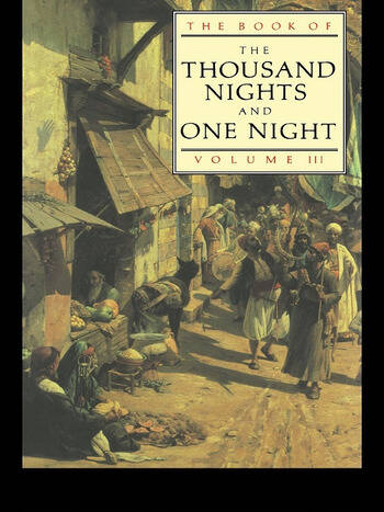 The Book of the Thousand and One Nights (Vol 3) book cover