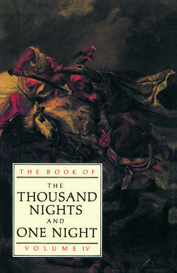 The Book of the Thousand and One Nights (Vol 4) book cover