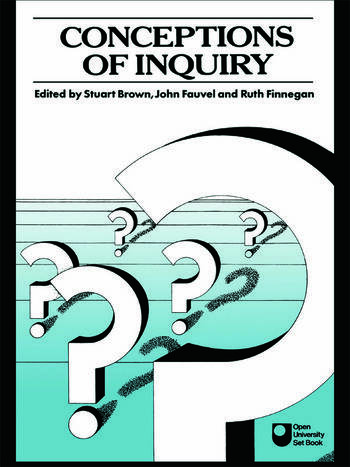 Conceptions of Inquiry book cover