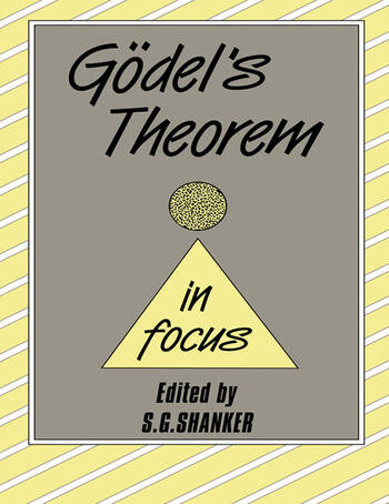 Godel's Theorem in Focus book cover