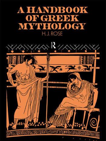 A Handbook of Greek Mythology book cover