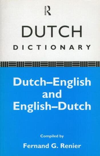 Dutch Dictionary Dutch-English, English-Dutch book cover