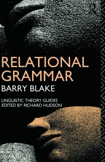 Relational Grammar book cover