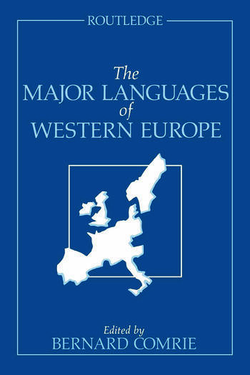 The Major Languages of Western Europe book cover