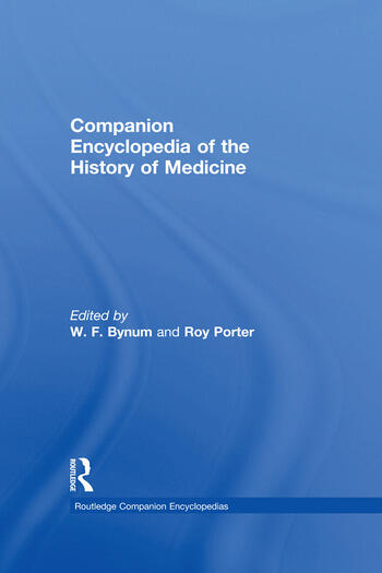 Companion Encyclopedia of the History of Medicine book cover