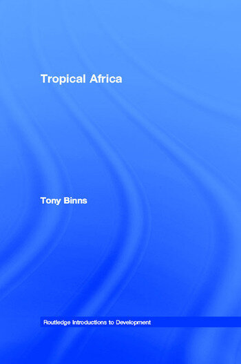 Tropical Africa book cover