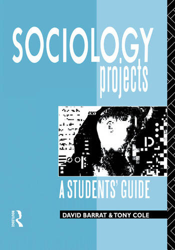 Sociology Projects A Students' Guide book cover