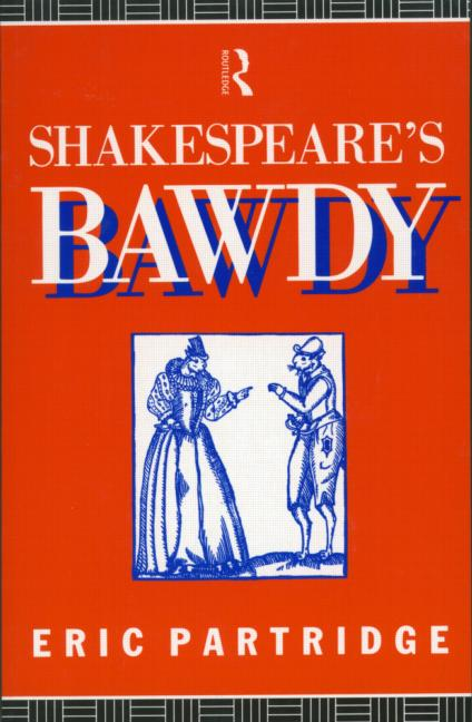 Shakespeare's Bawdy book cover