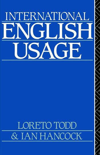 International English Usage book cover
