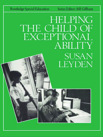 Helping the Child with Exceptional Ability book cover