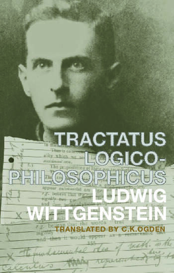 Tractatus Logico-Philosophicus German and English book cover