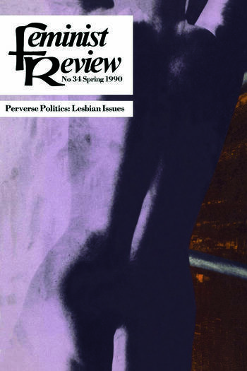 Feminist Review Issue 34: Perverse Politics book cover