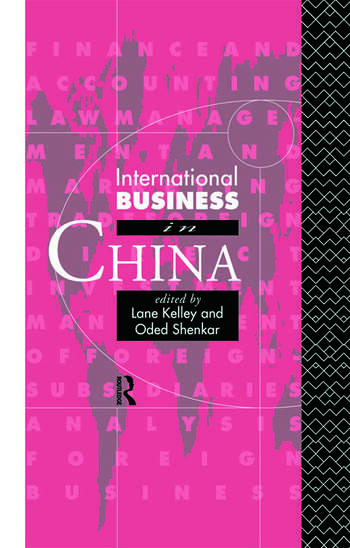 International Business in China book cover