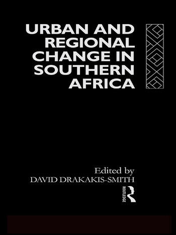 Urban and Regional Change in Southern Africa book cover
