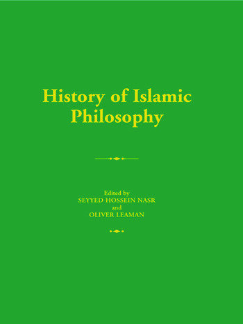 The History of Islamic Philosophy book cover