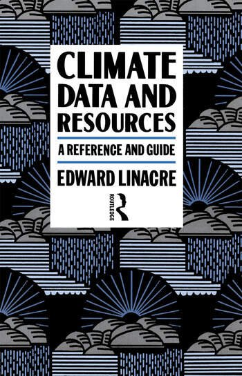 Climate Data and Resources A Reference and Guide book cover