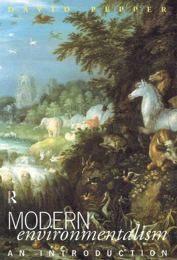 Modern Environmentalism An Introduction book cover