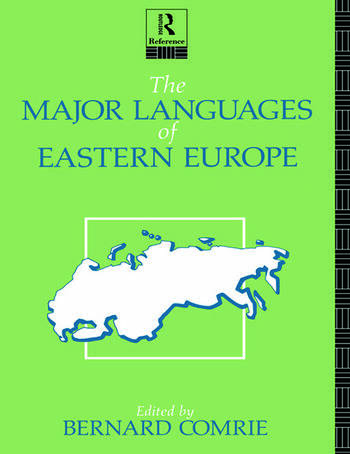 The Major Languages of Eastern Europe book cover