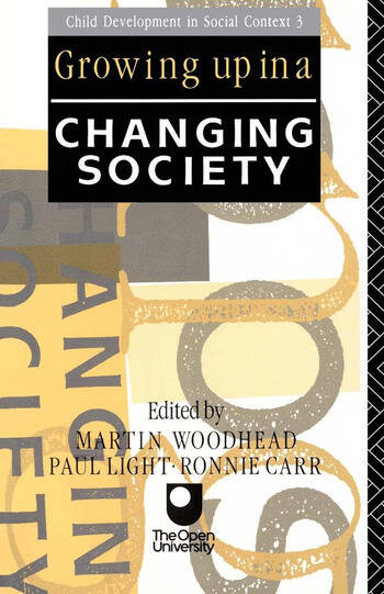 Growing Up in a Changing Society book cover