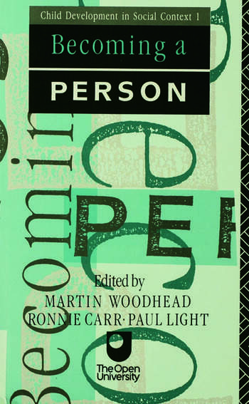 Becoming A Person book cover