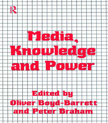 Media, Knowledge and Power book cover