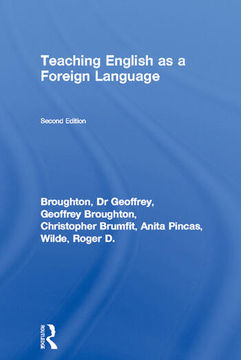 Teaching English as a Foreign Language book cover