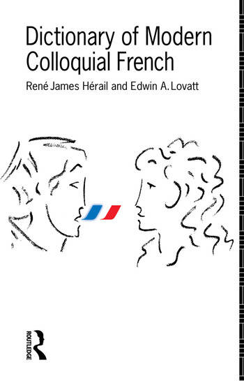 Dictionary of Modern Colloquial French book cover