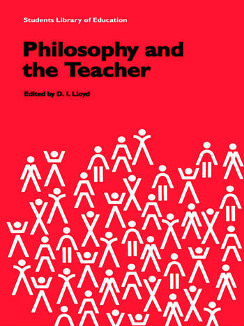 Philosophy and the Teacher book cover
