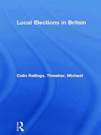 Local Elections in Britain book cover