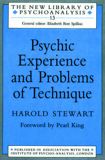 Psychic Experience and Problems of Technique book cover