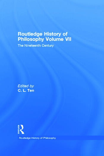 Routledge History of Philosophy Volume VII The Nineteenth Century book cover