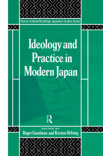 Ideology and Practice in Modern Japan book cover