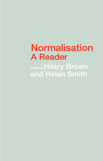 Normalisation A Reader book cover