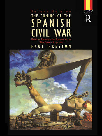 Coming of the Spanish Civil War book cover