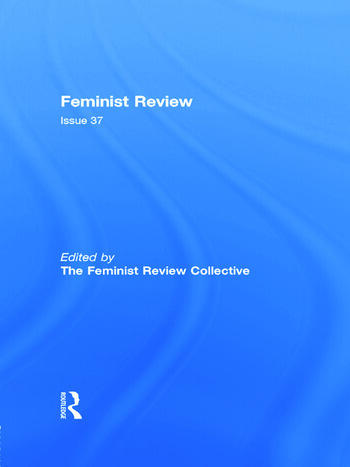Feminist Review Issue 37 book cover