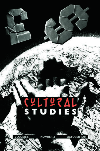 Cultural Studies V 5 Issue 3 book cover