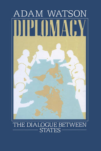 Diplomacy The Dialogue Between States book cover