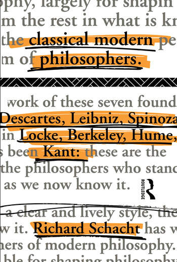 Classical Modern Philosophers Descartes to Kant book cover