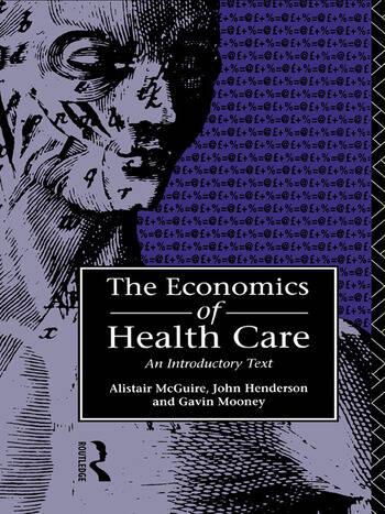 Economics of Health Care book cover