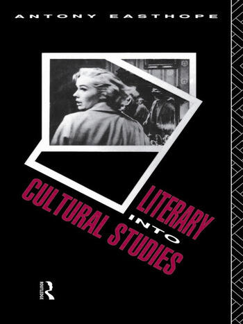 Literary into Cultural Studies book cover
