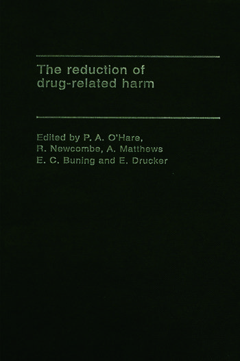 The Reduction of Drug-Related Harm book cover
