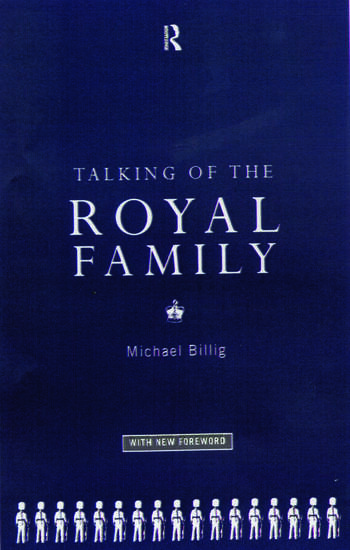 Talking of the Royal Family book cover