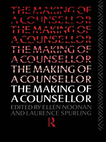 The Making of a Counsellor book cover