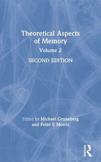 Theoretical Aspects of Memory Volume 2 book cover
