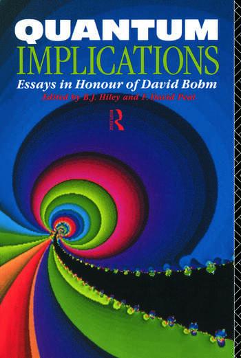 Quantum Implications Essays in Honour of David Bohm book cover