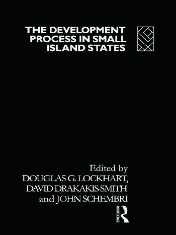 The Development Process in Small Island States book cover